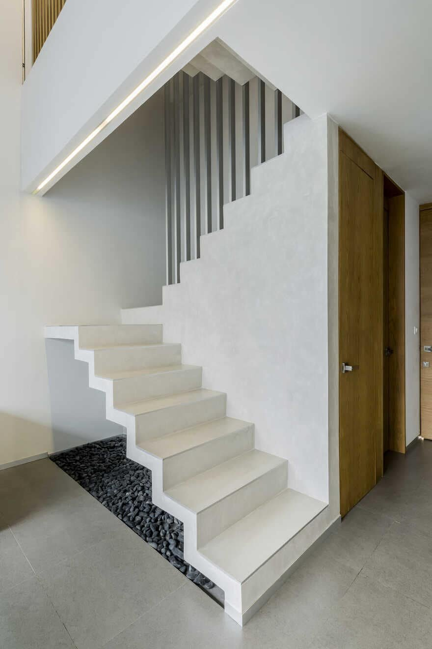 staircase, Cancun / Warm Architects