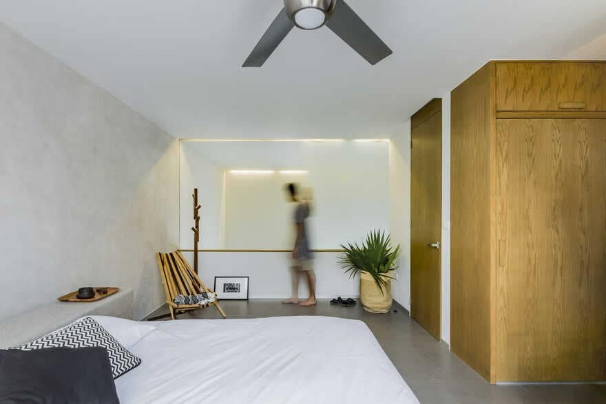 bedroom, Cancun / Warm Architects