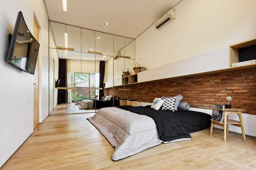 bedroom, Cinere, Indonesia Delution Design Revolution