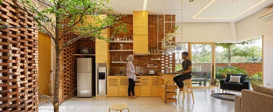 kitchen, Cinere, Indonesia Delution Design Revolution