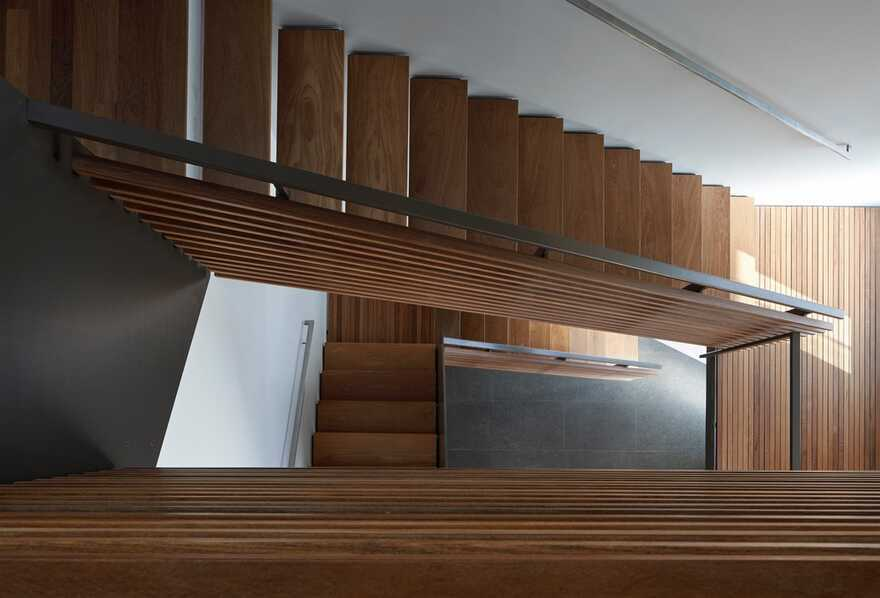 staircase / Terry & Terry Architecture