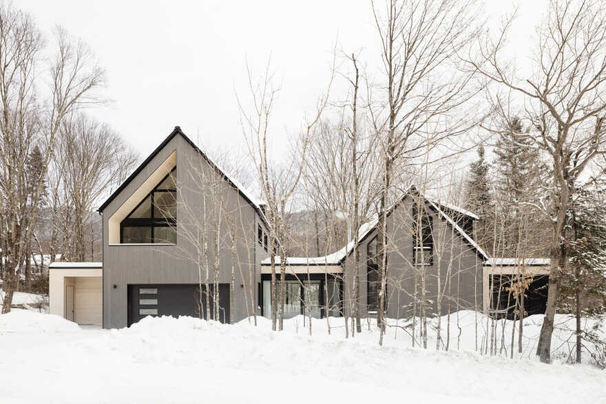 La Frangine House: Conversion of a Former Ski Chalet into a Residence