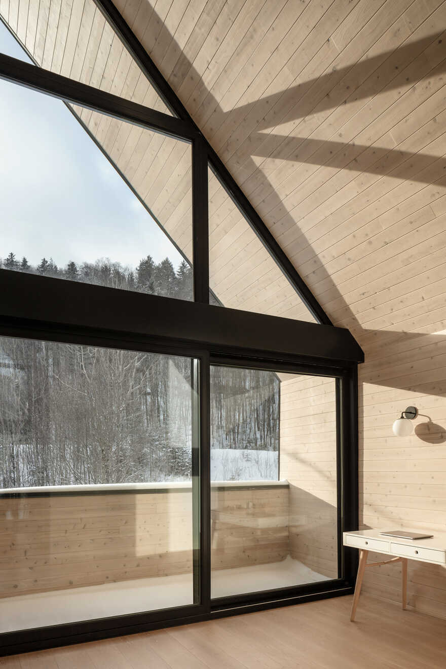 Conversion of a Former Ski Chalet into a Residence