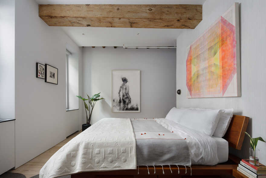 bedroom, Worrell Yeung Architecture