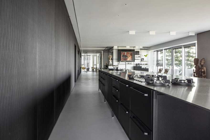 kitchen, Tel Aviv / Raz Melamed Architect