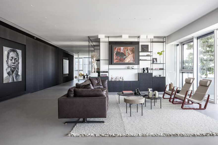 living space, Tel Aviv / Raz Melamed Architect