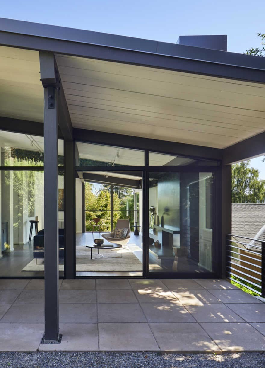 Nest Residence, Seattle, Washington...a Mid-Century House Renovation