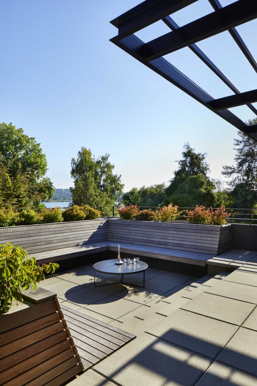 terrace, Seattle, Washington...a Mid-Century House Renovation