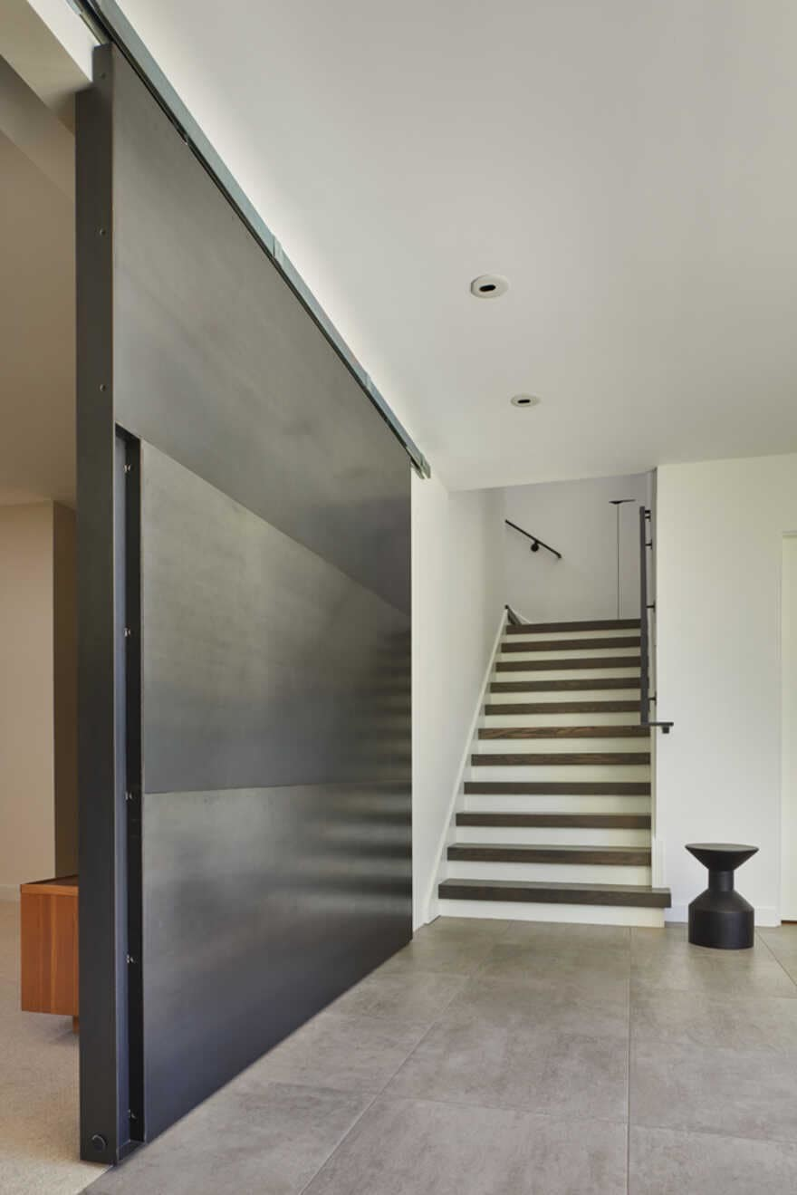 staircase, Seattle, Washington...a Mid-Century House Renovation