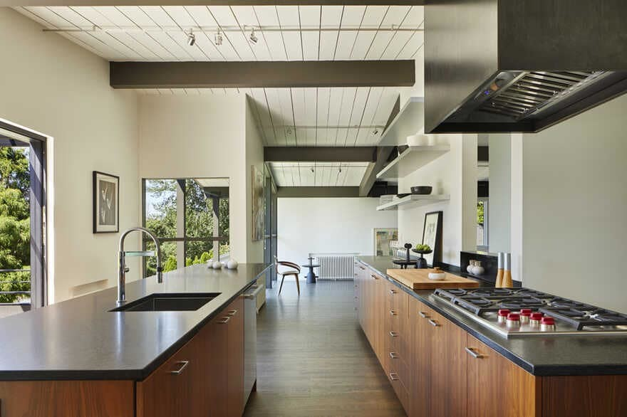 kitchen, Seattle, Washington...a Mid-Century House Renovation