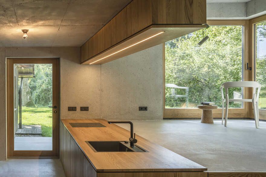 kitchen, German Architect Studio Buero Wagner