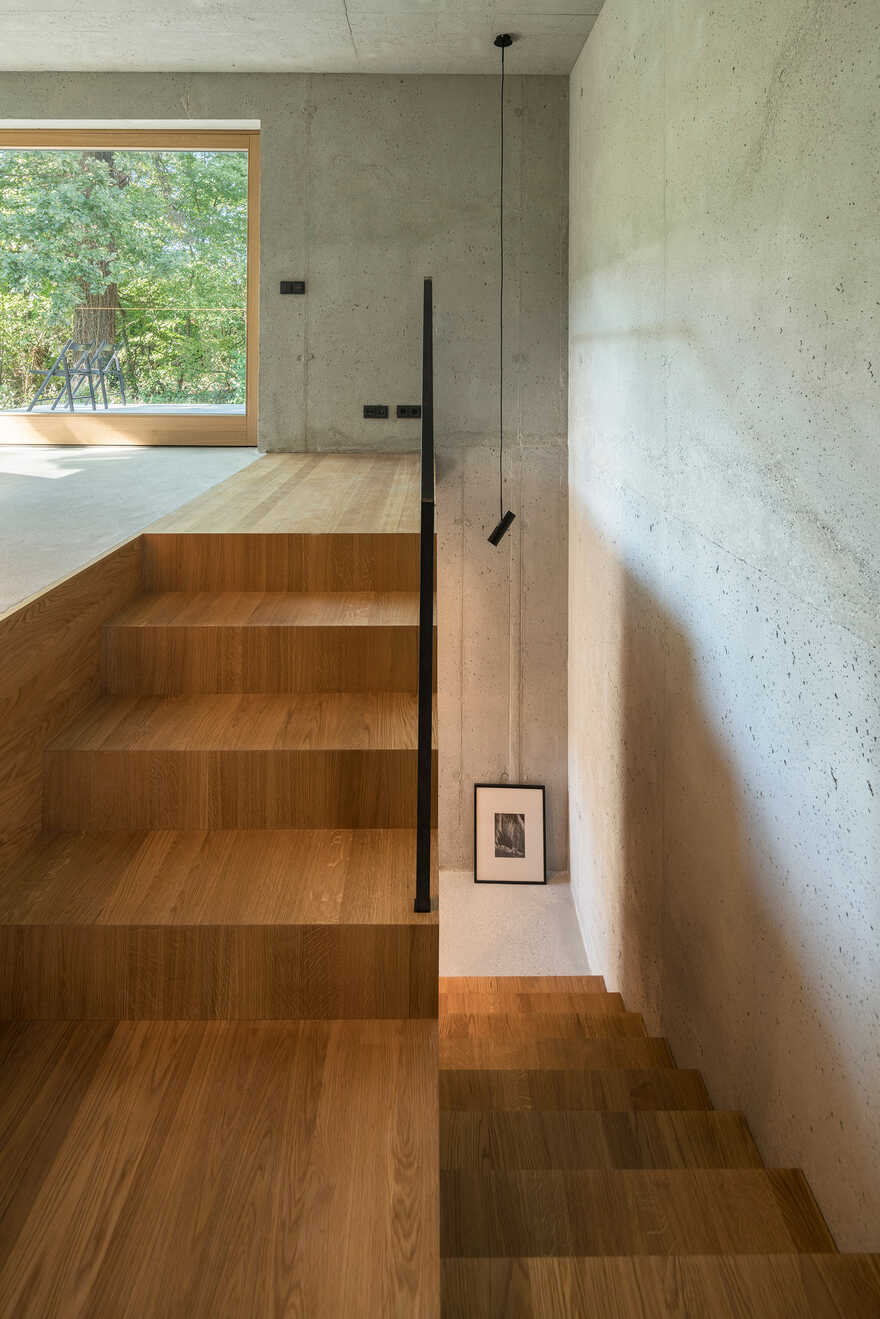 stairs, German Architect Studio Buero Wagner