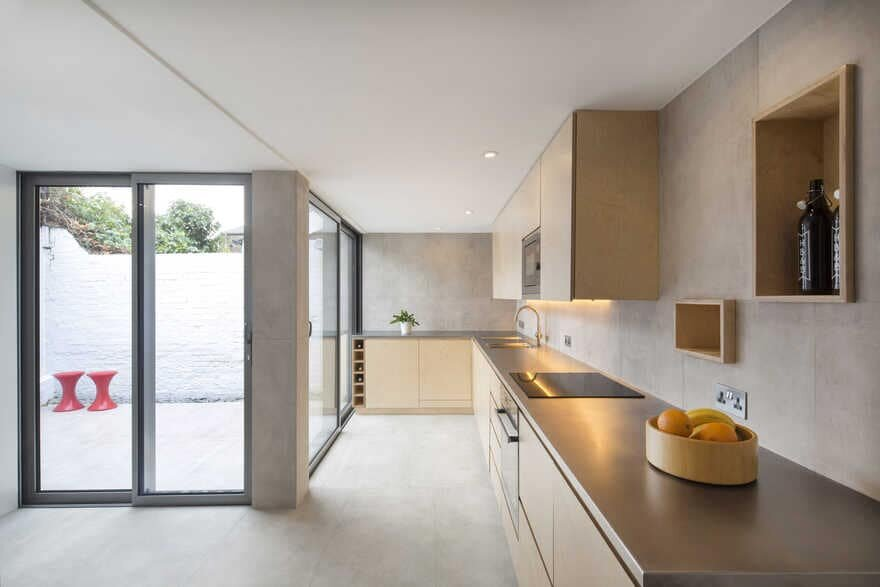 Small-Scale Extension to a Three-Storey Victorian Townhouse
