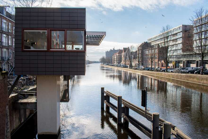 Sweets Hotel Transforms Amsterdam's Former Bridge Houses into Independent Hotel Rooms