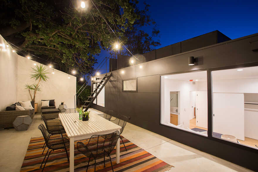 terrace, Los Angeles / ANX - Aaron Neubert Architects