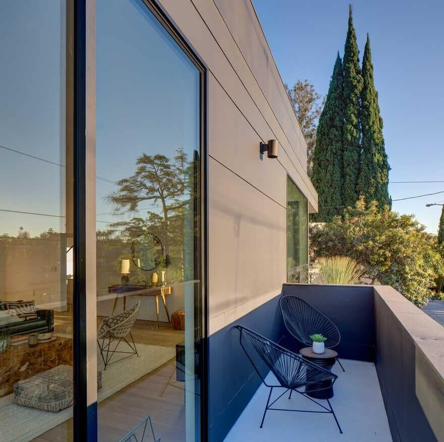 balcony, Los Angeles / ANX - Aaron Neubert Architects