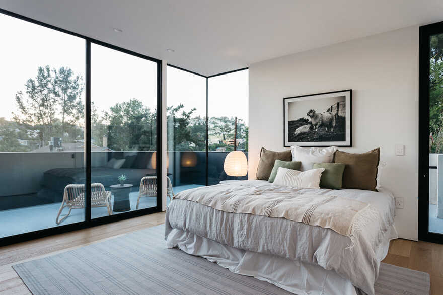 bedroom, Los Angeles / ANX - Aaron Neubert Architects