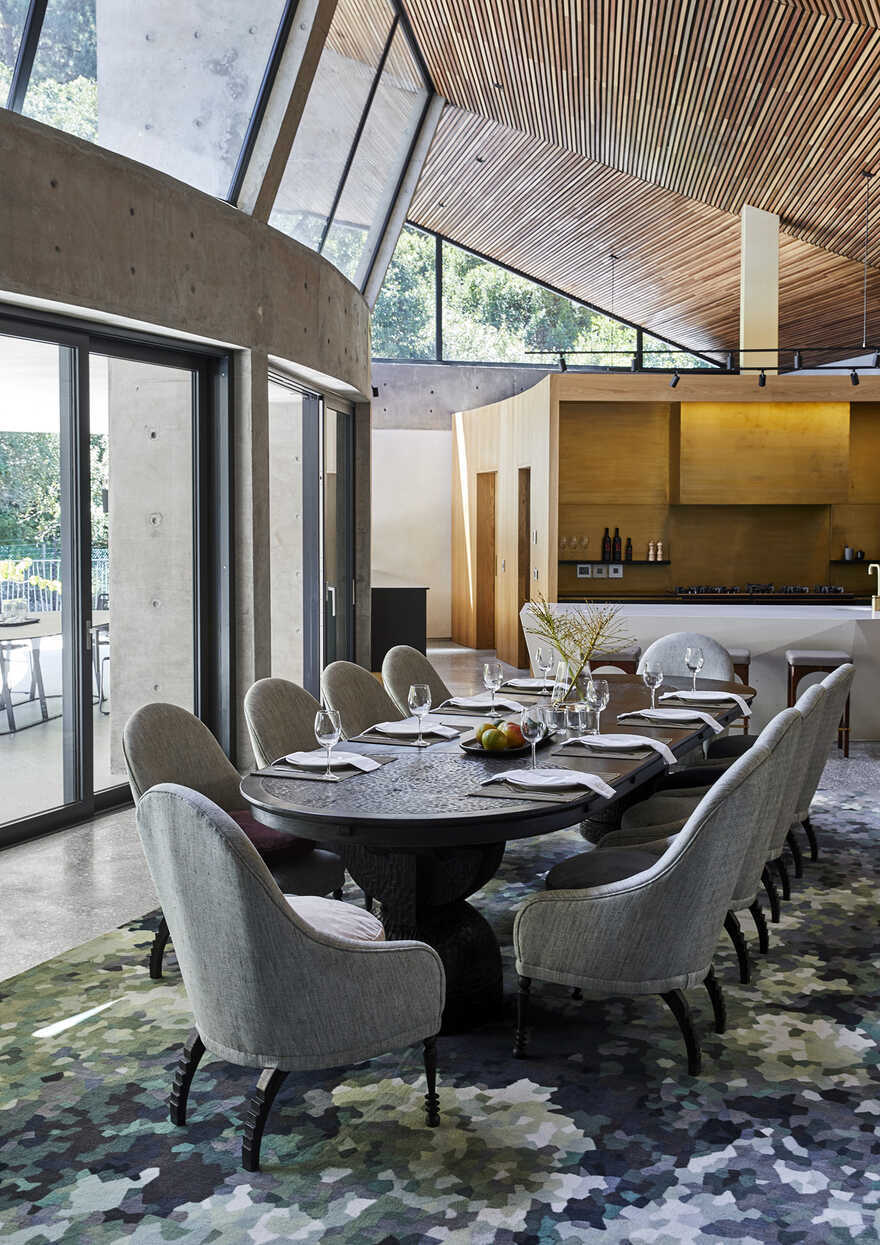 dining room, Cape Town / Thomas Leach Architecture