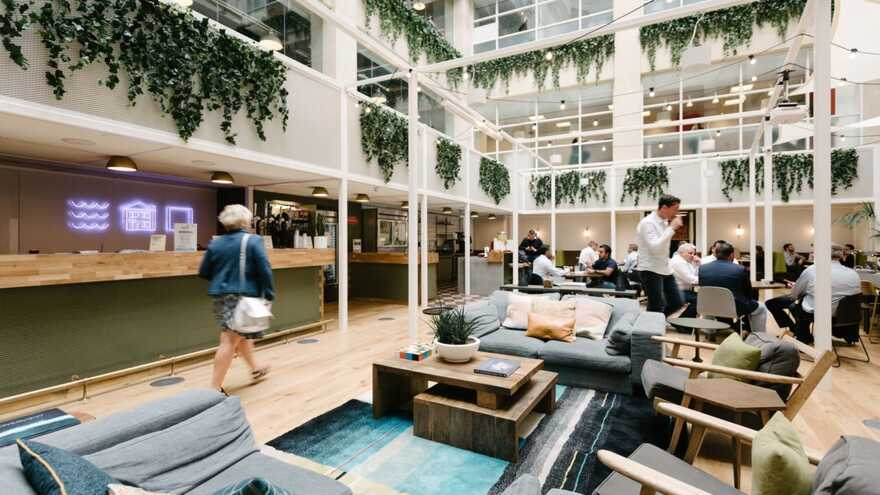 WeWork Office by Okra and Direct Painting Group