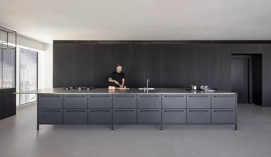 kitchen, Raz Melamed Architect