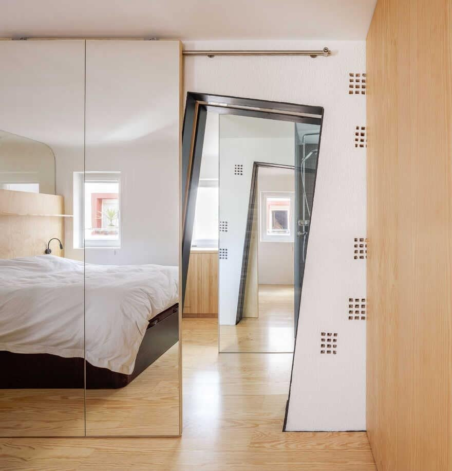 bedroom, CUAC Arquitectura