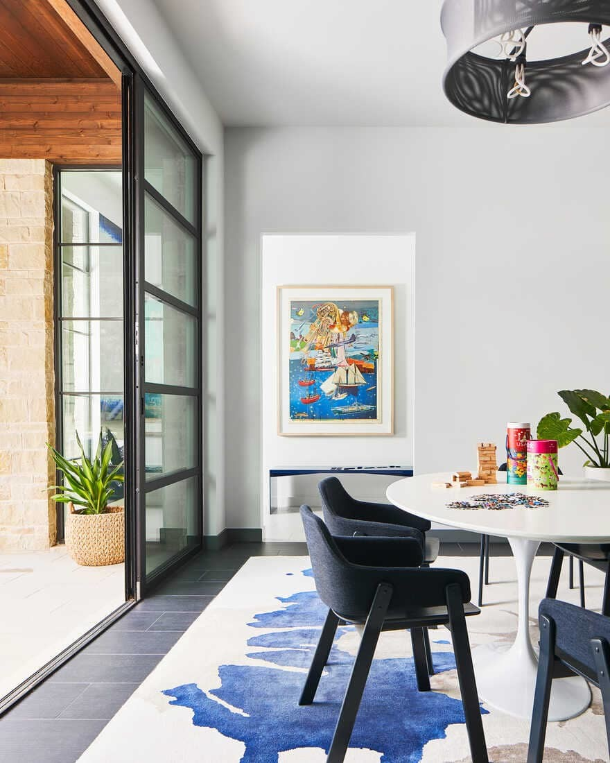 Design Team Curates a One of a kind Art Collection