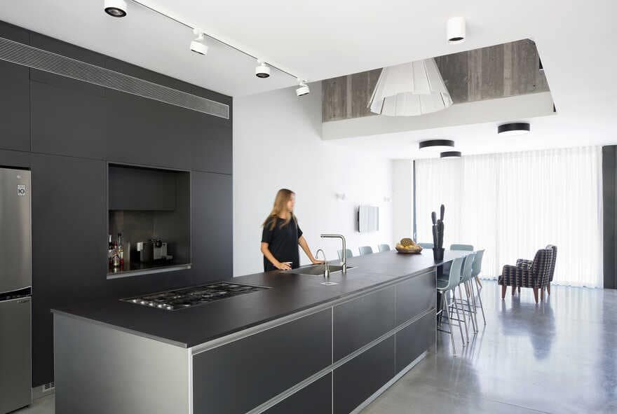 kitchen by Arbejazz Studio Architects