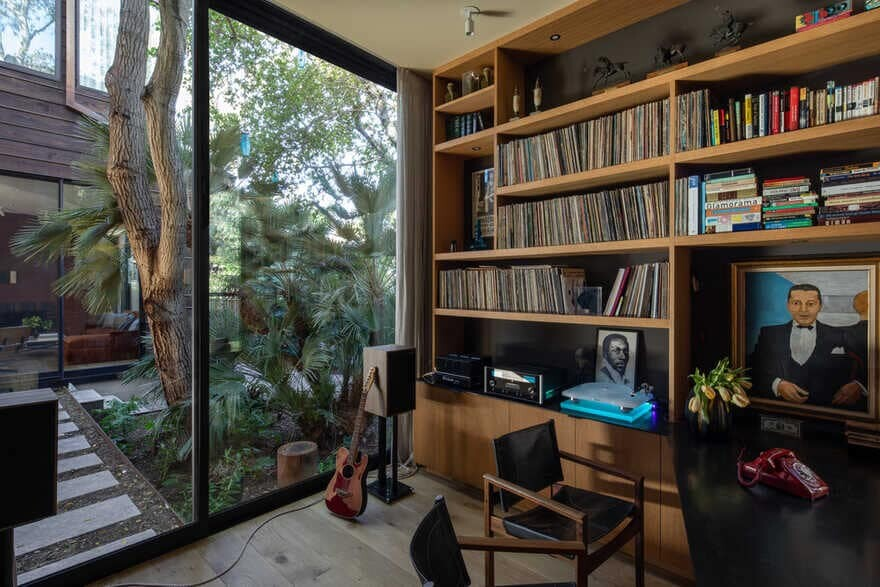 home office, Conner + Perry Architects