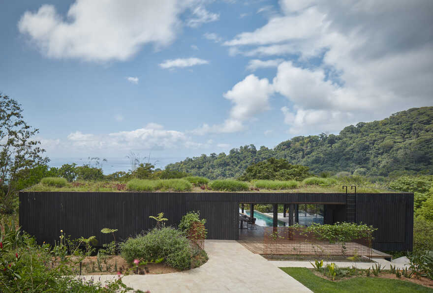 Atelier Villa, Prismatic House Surrounded By Lush Tropical Vegetation
