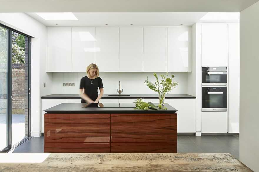 kitchen, Extension and Refurbishment by Mulroy Architects