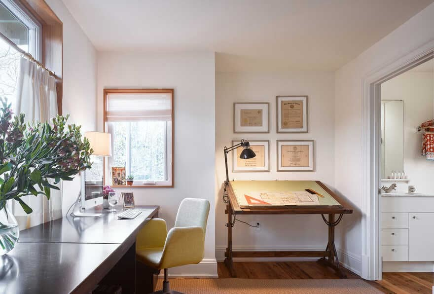 home office, Rick +Cindy Black Architects