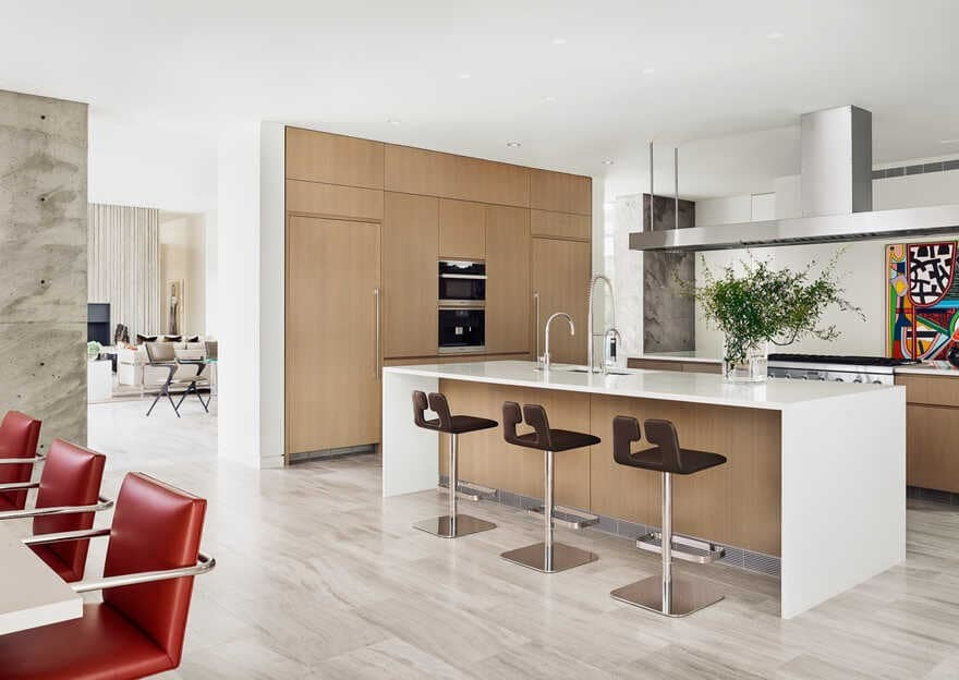 The Preston Hollow home by Specht Architects, kitchen
