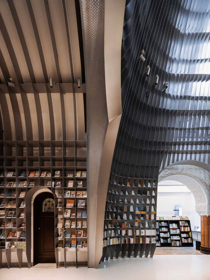 Sinan Books Poetry Store by Wutopia Lab