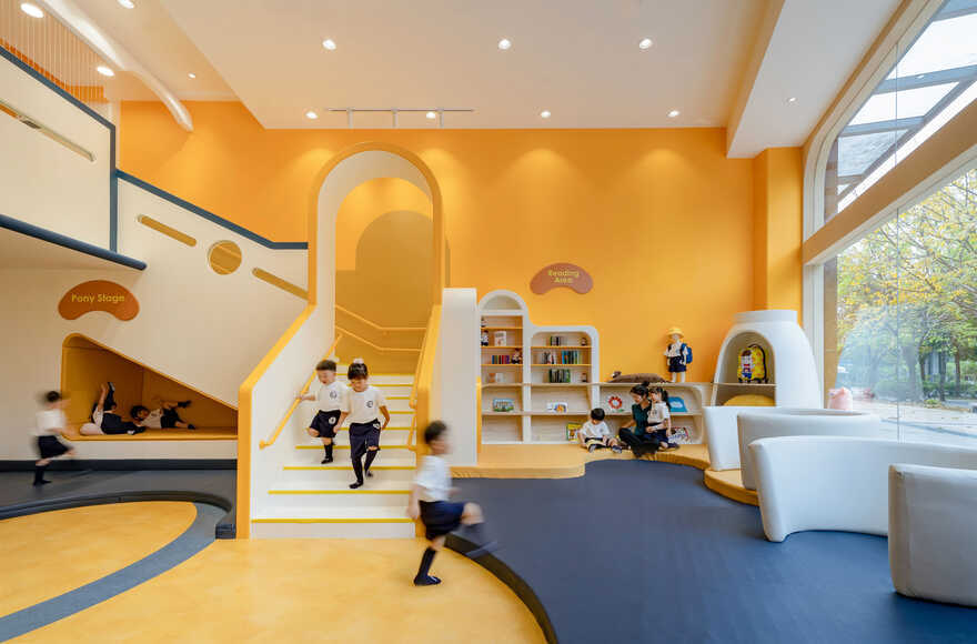 Pony Running Daycare Showroom by VMDPE Design