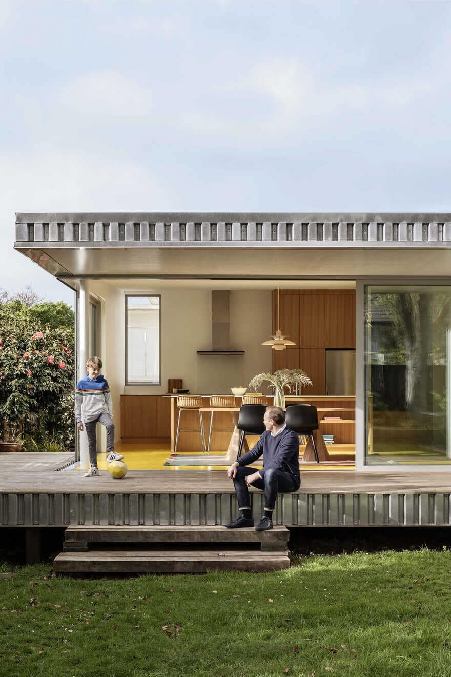 Yolk House, Renovation of an Auckland Family Home by Pac Studio