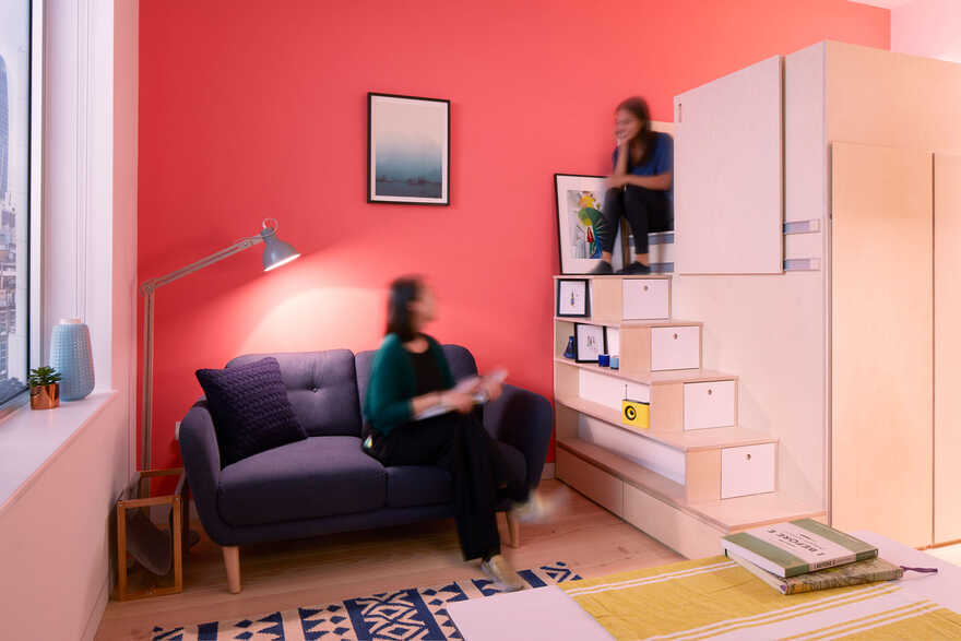 Micro Living Unit, London / Ab Rogers Design
