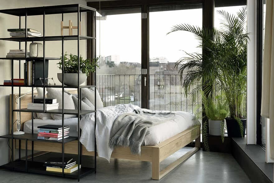 bedroom, DMOA architects