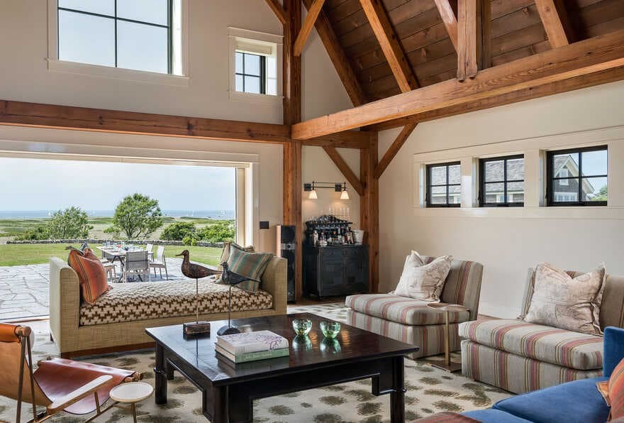 Block Island Barn Renovation by Taylor Interior Design