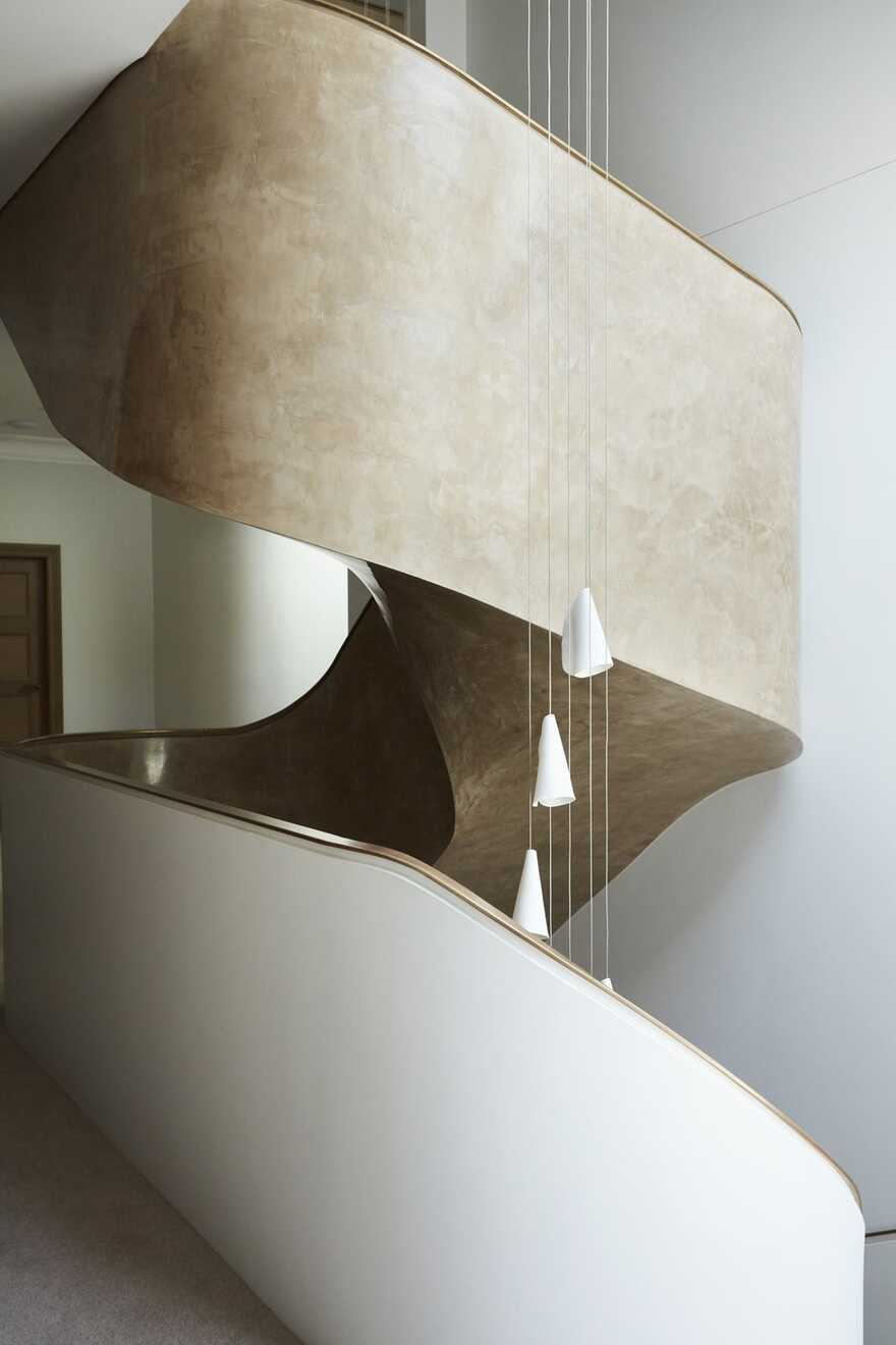 staircase by Luigi Rosselli Architects