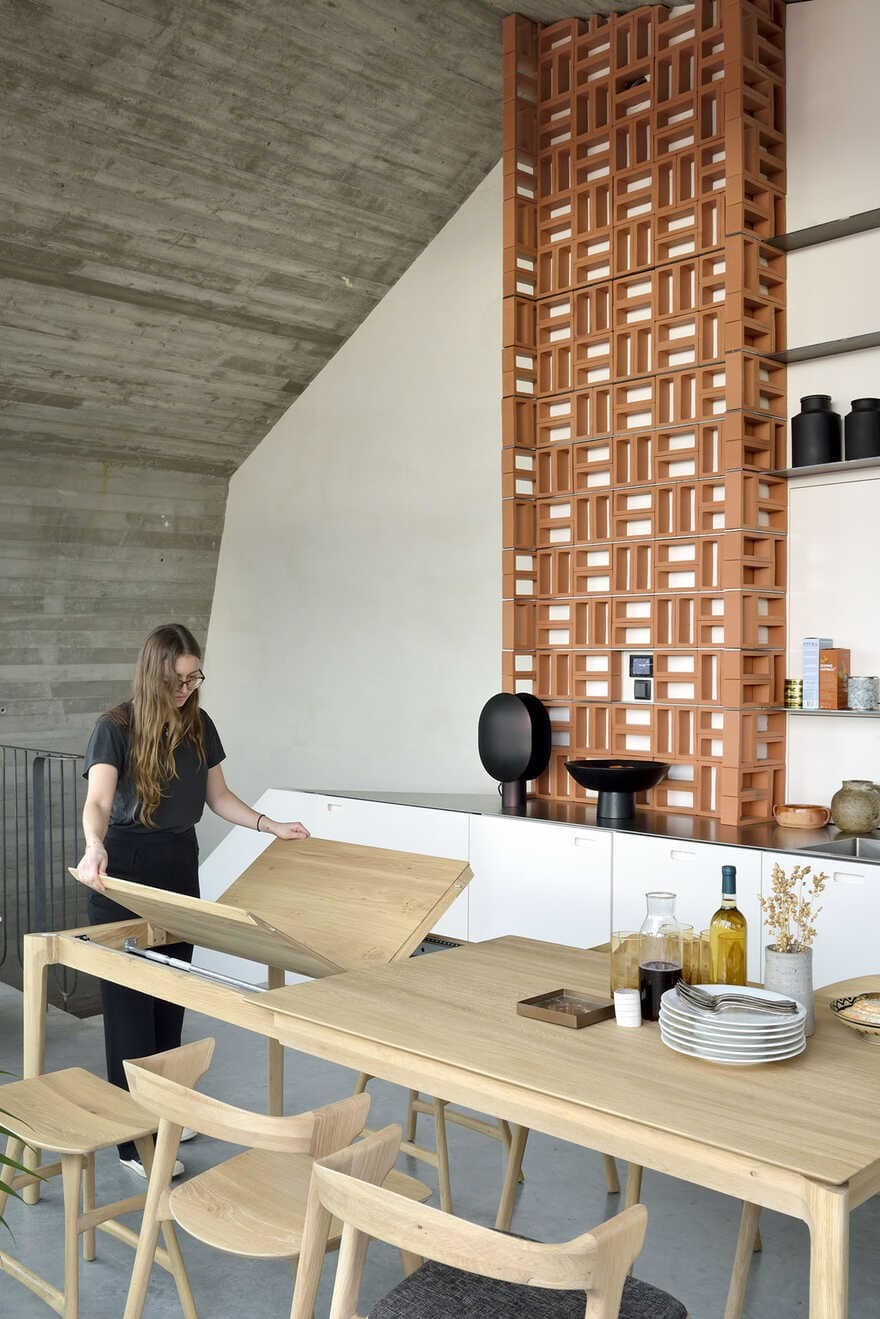 dining room, DMOA architects