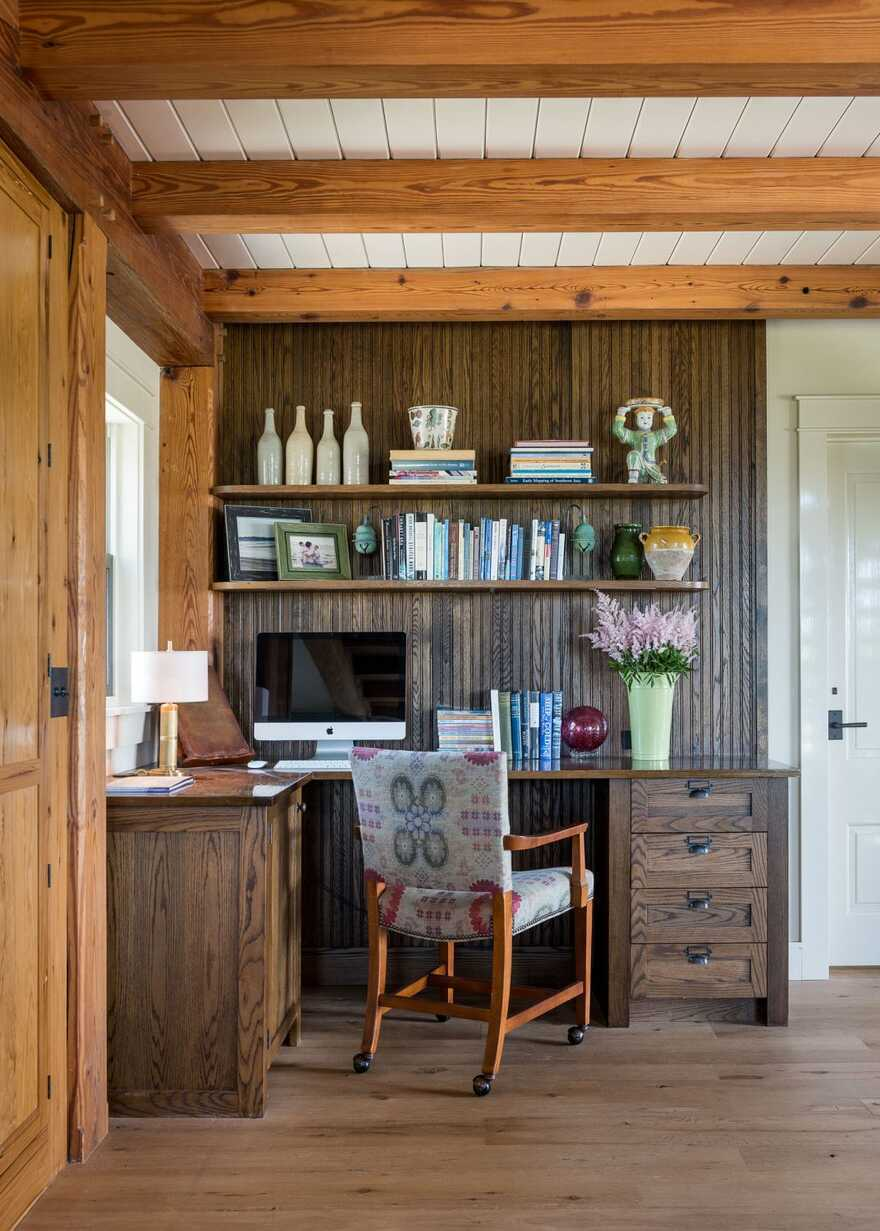 home office by Taylor Interior Design