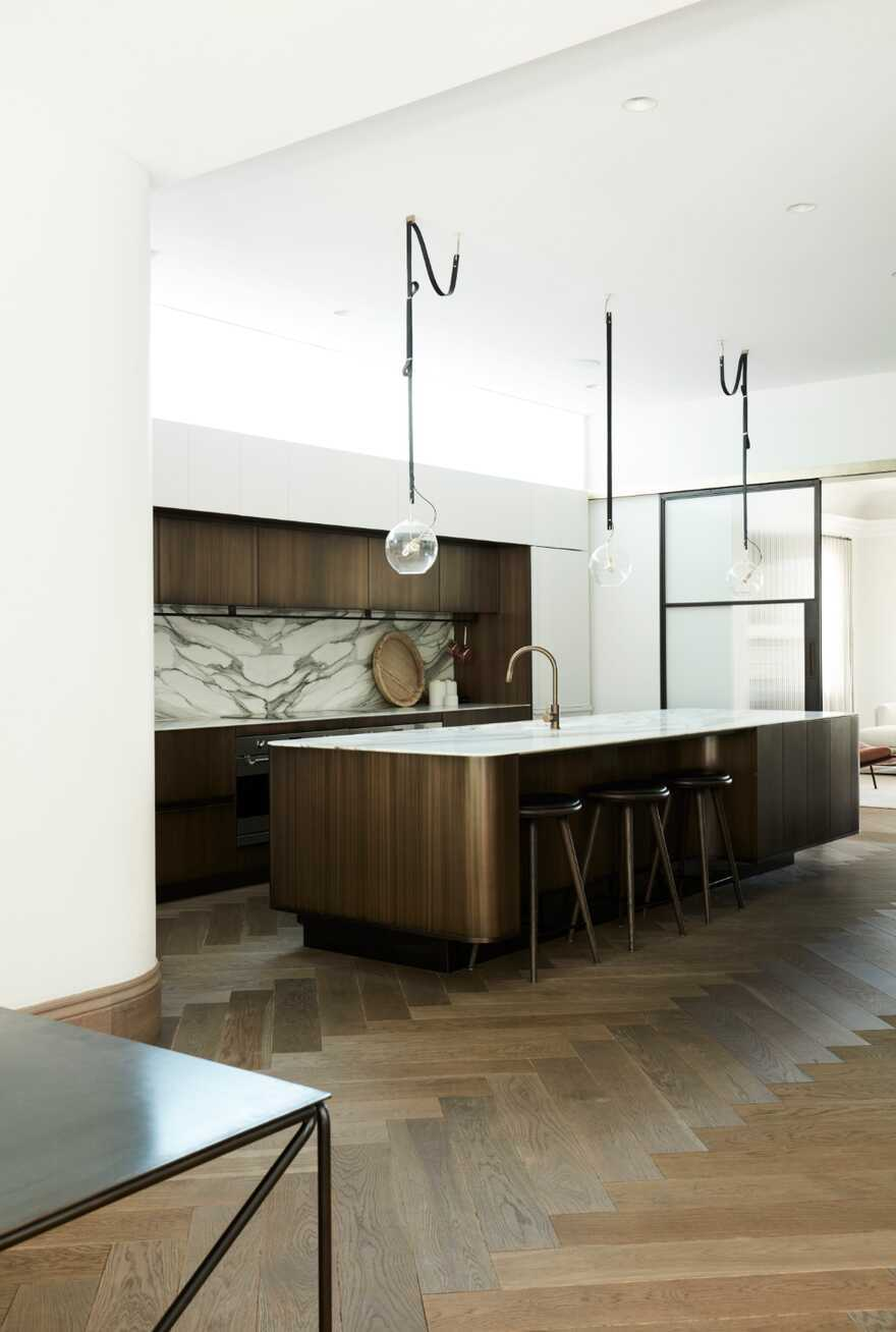 kitchen, Luigi Rosselli Architects