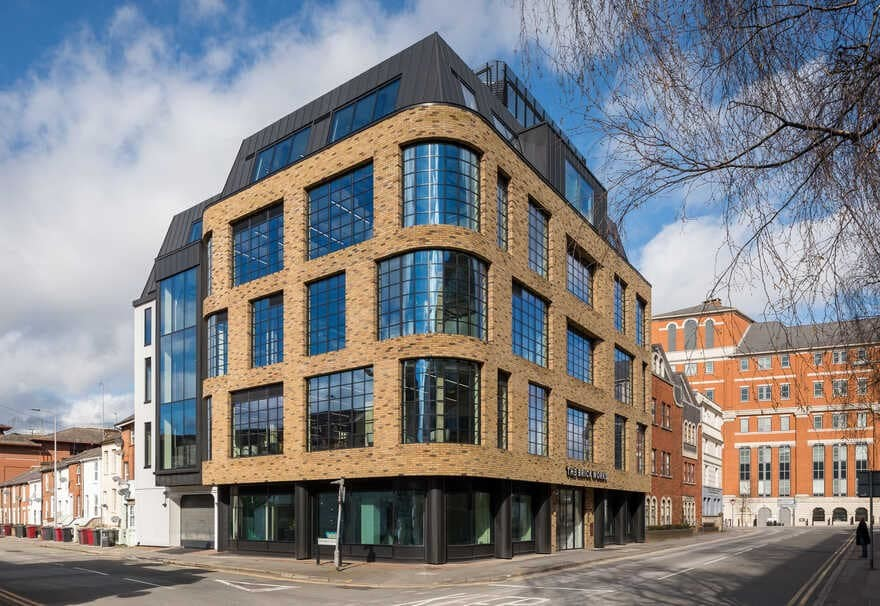 five-storey building offering private workspace in Reading