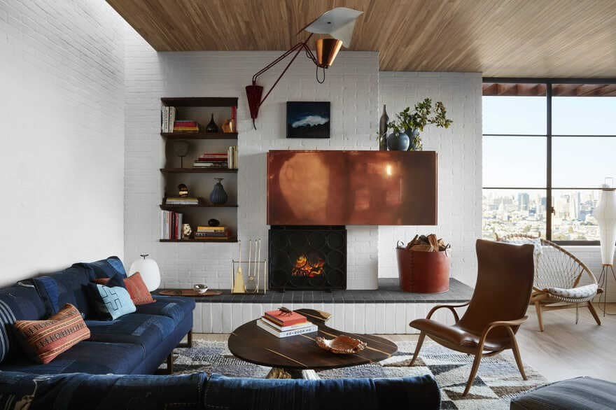 living room, San Francisco / Feldman Architecture