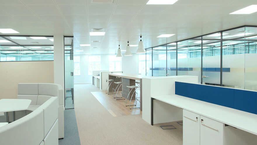 HarbourVest Office Design by Maris and Direct Painting Group