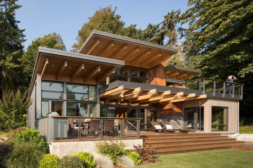 Hillside Home Retreat by Coates Design Architects