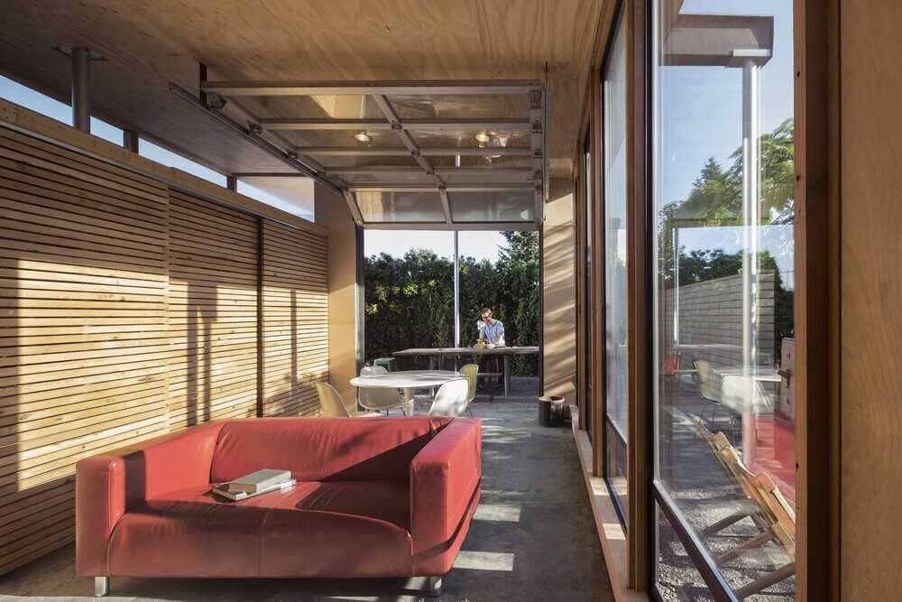 Grasshopper Courtyard Studio by Wittman Estes