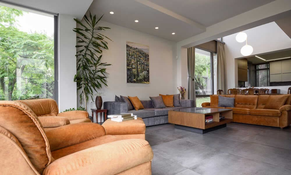 living room, T&T Architects