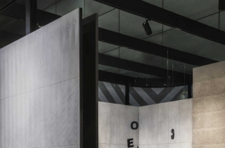 Exhibition Space: Split in Two by Paolo Cesaretti Arch