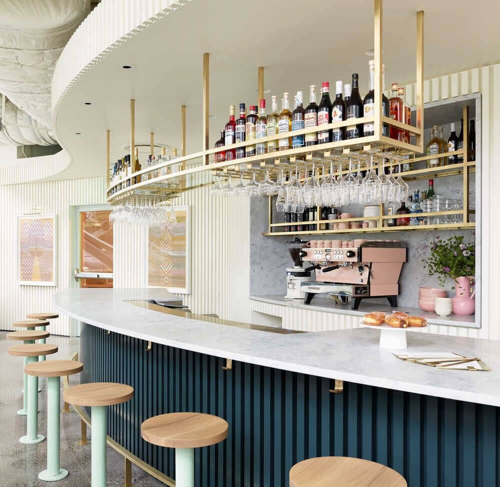bar in Seattle by Heliotrope Architects